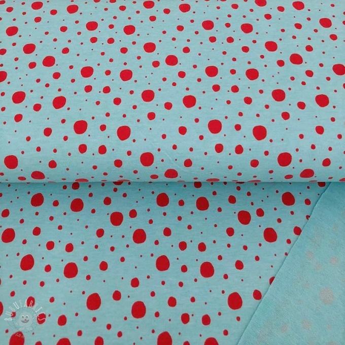 b73568a0b870 Sweat Dots aqua fuchsia melange